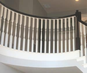 How To Stain Banisters Dark With General Finishes Java Gel