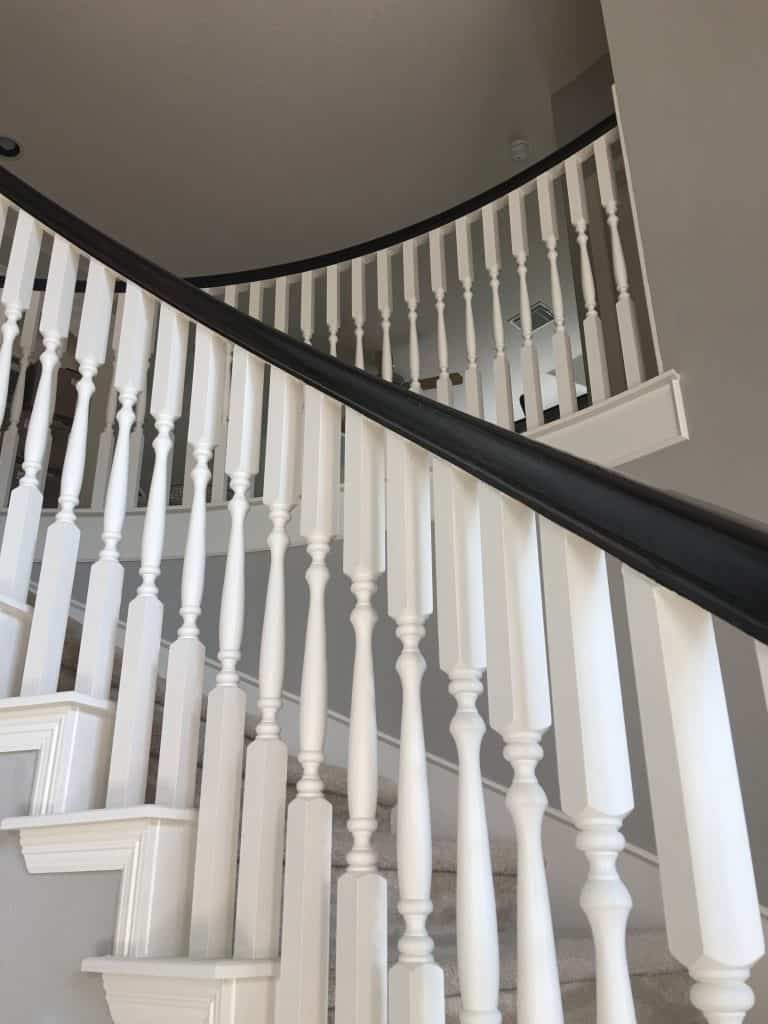 Let Stain Dry Overnight. I Did Both Of My Coats During The Day As Soon As  My Kiddos Left For School. This Way The Banister Would Have Almost 4 6  Hours To ...