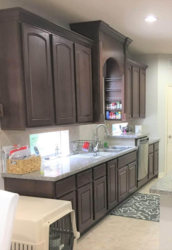 Painting Dark Kitchen Cabinets White, Painting Kitchen Cabinets Black