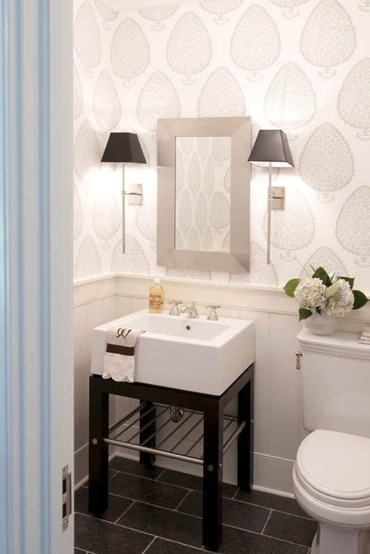 29 Fabulous Wallpaper Ideas to Try for Your Powder ...