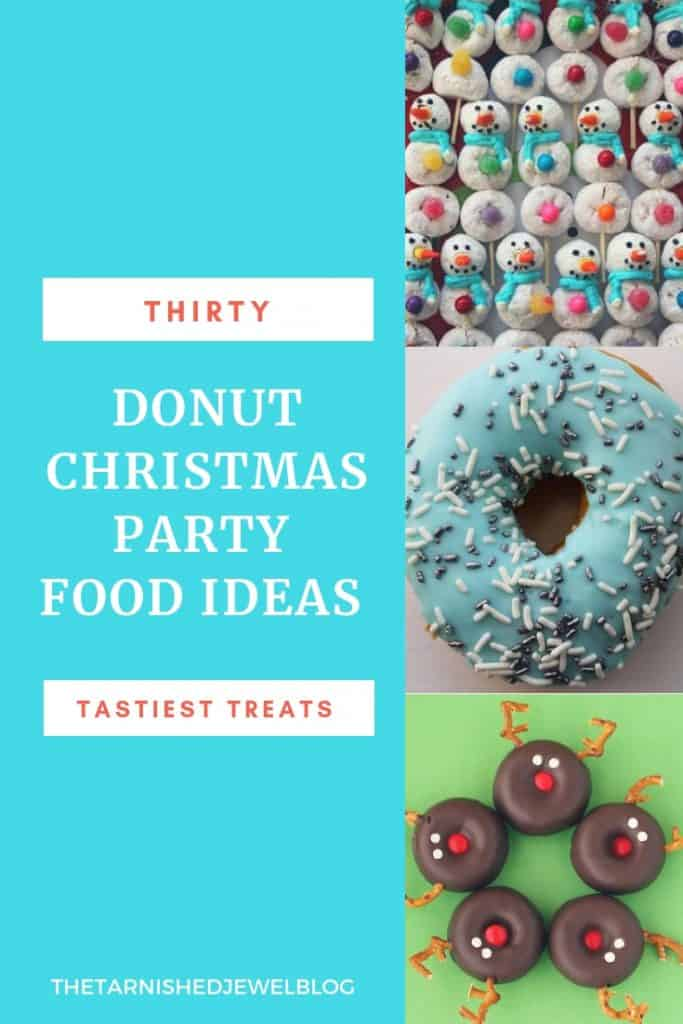 Christmas Party Food Ideas.Let It Snow Donut Christmas Party Part 2 Food Planning
