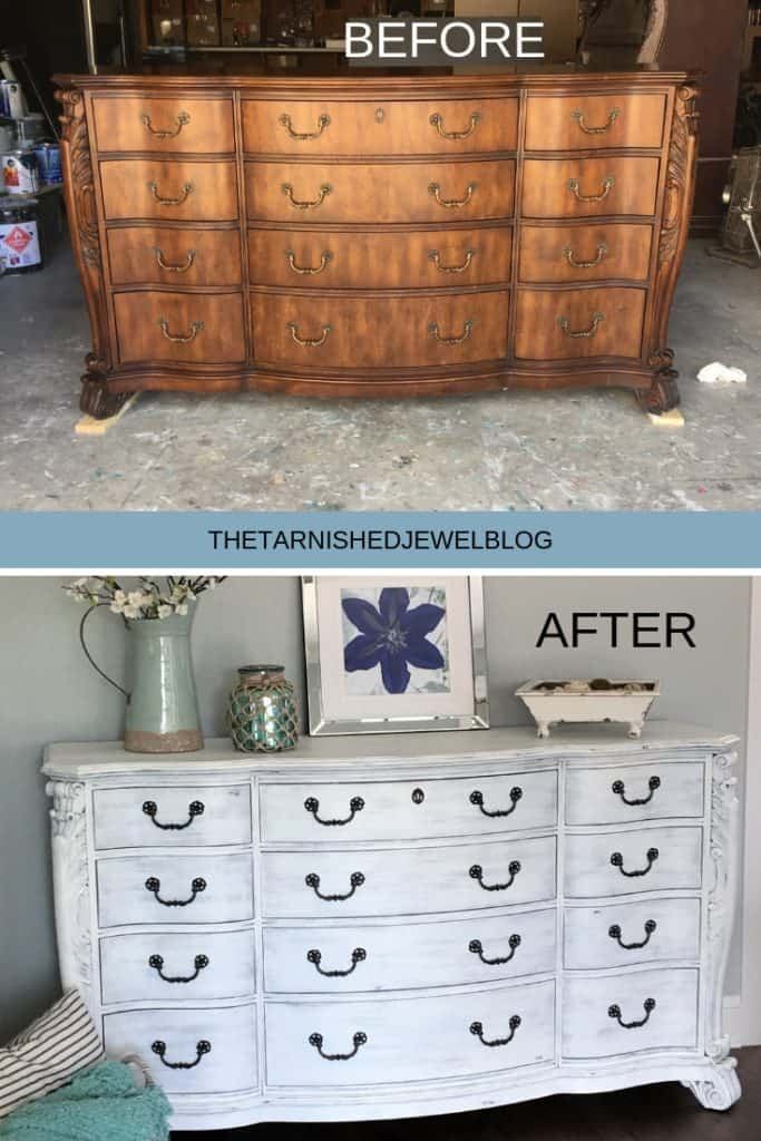 Painting 101 White Washed Dresser