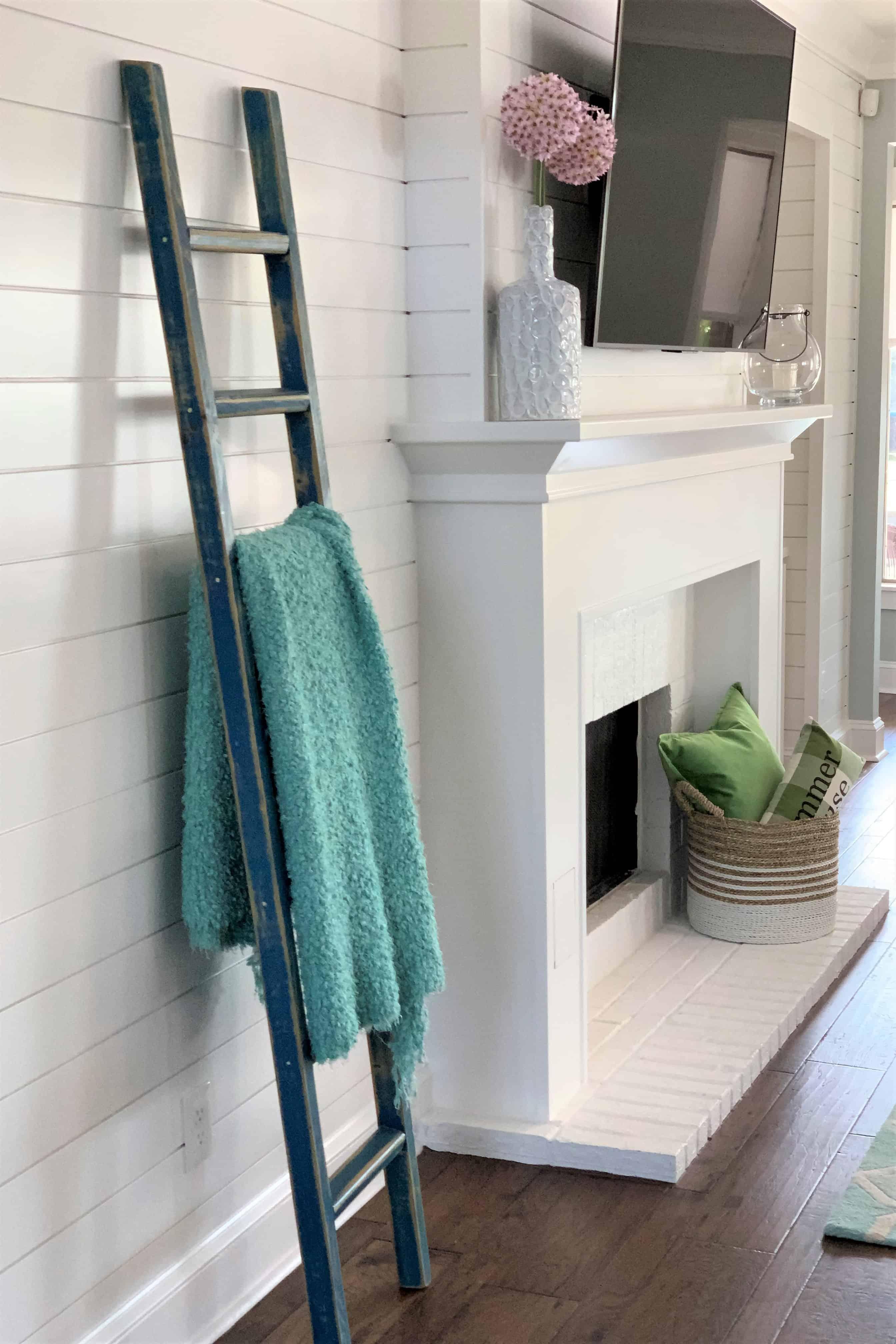 Adding A Shiplap Feature Wall To Living Room Thetarnishedjewelblog