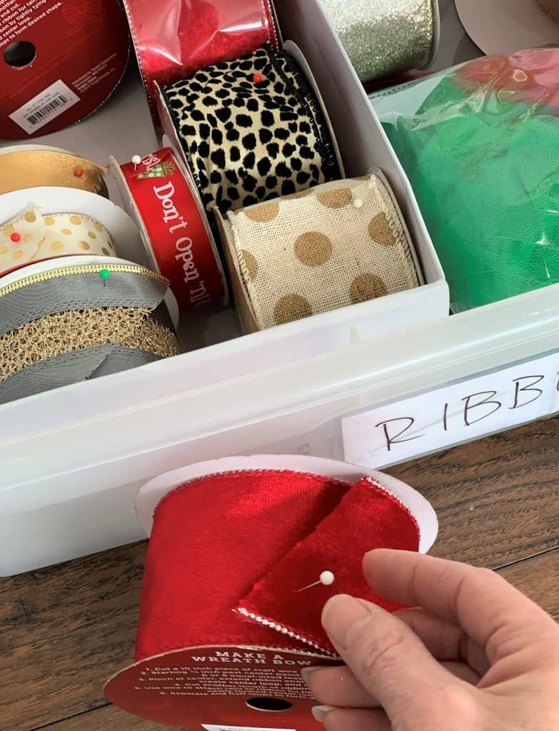 best ways to store & organize Christmas decorations