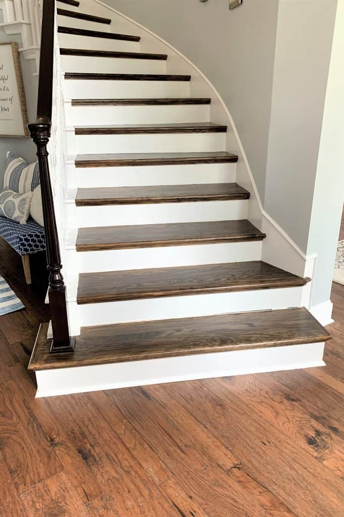 5 tips: adding hardwood to curved staircase