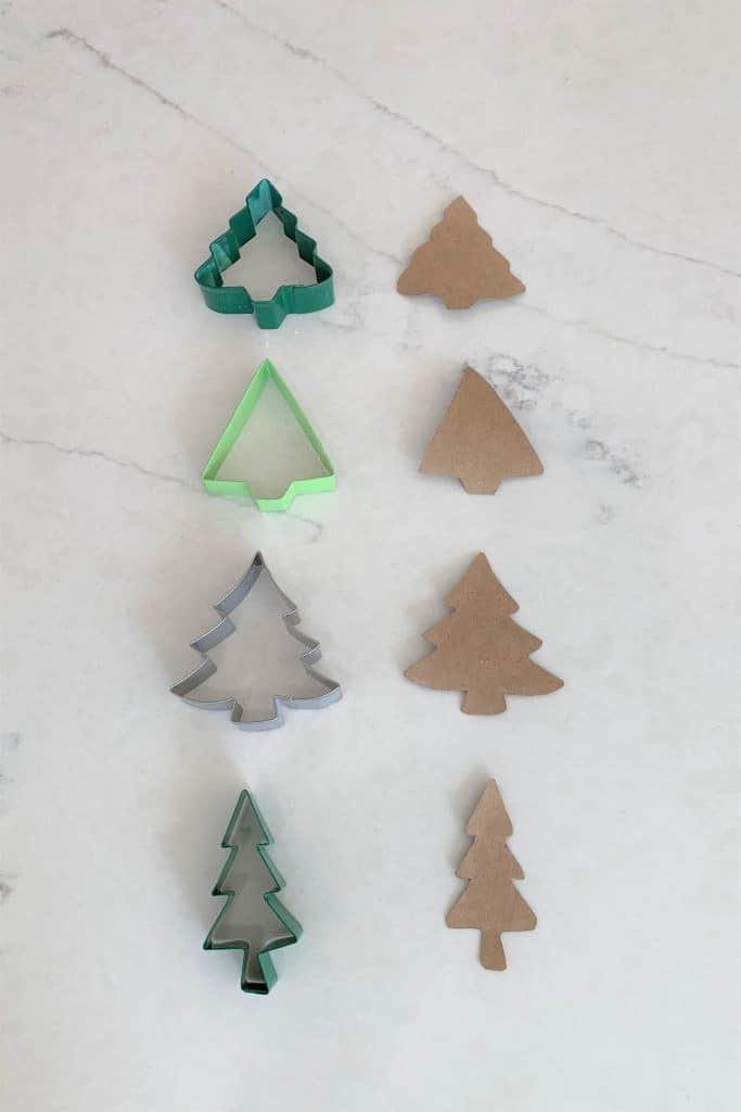 DIY Birch Tree Gift Tags: Using Toilet Paper Rolls