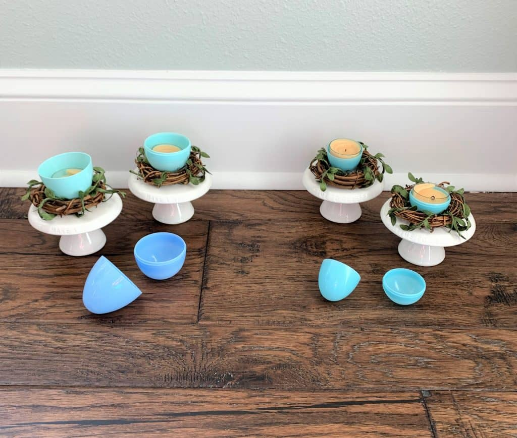 DIY Bird Nests & Candle Holders