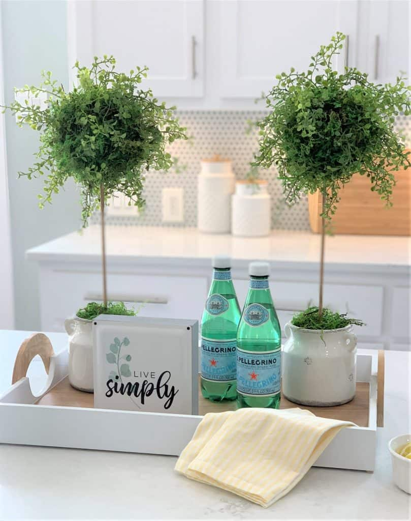 DIY Faux Topiary Trees (quick & easy)