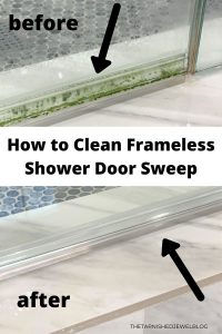 How To Clean Frameless Shower Door Sweep