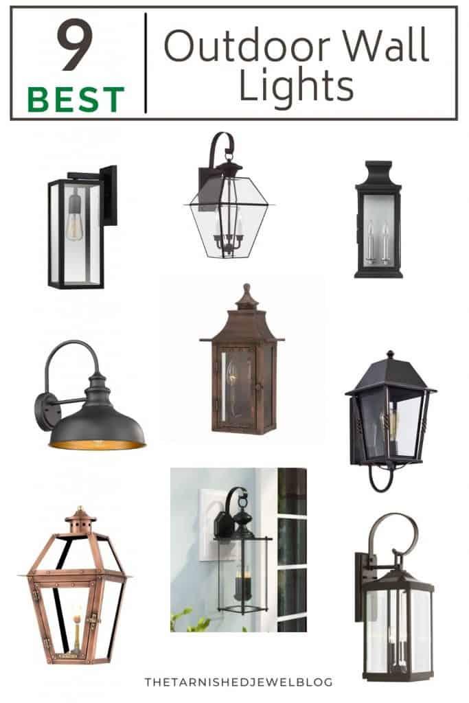 9 BEST outdoor wall lights (under $250)